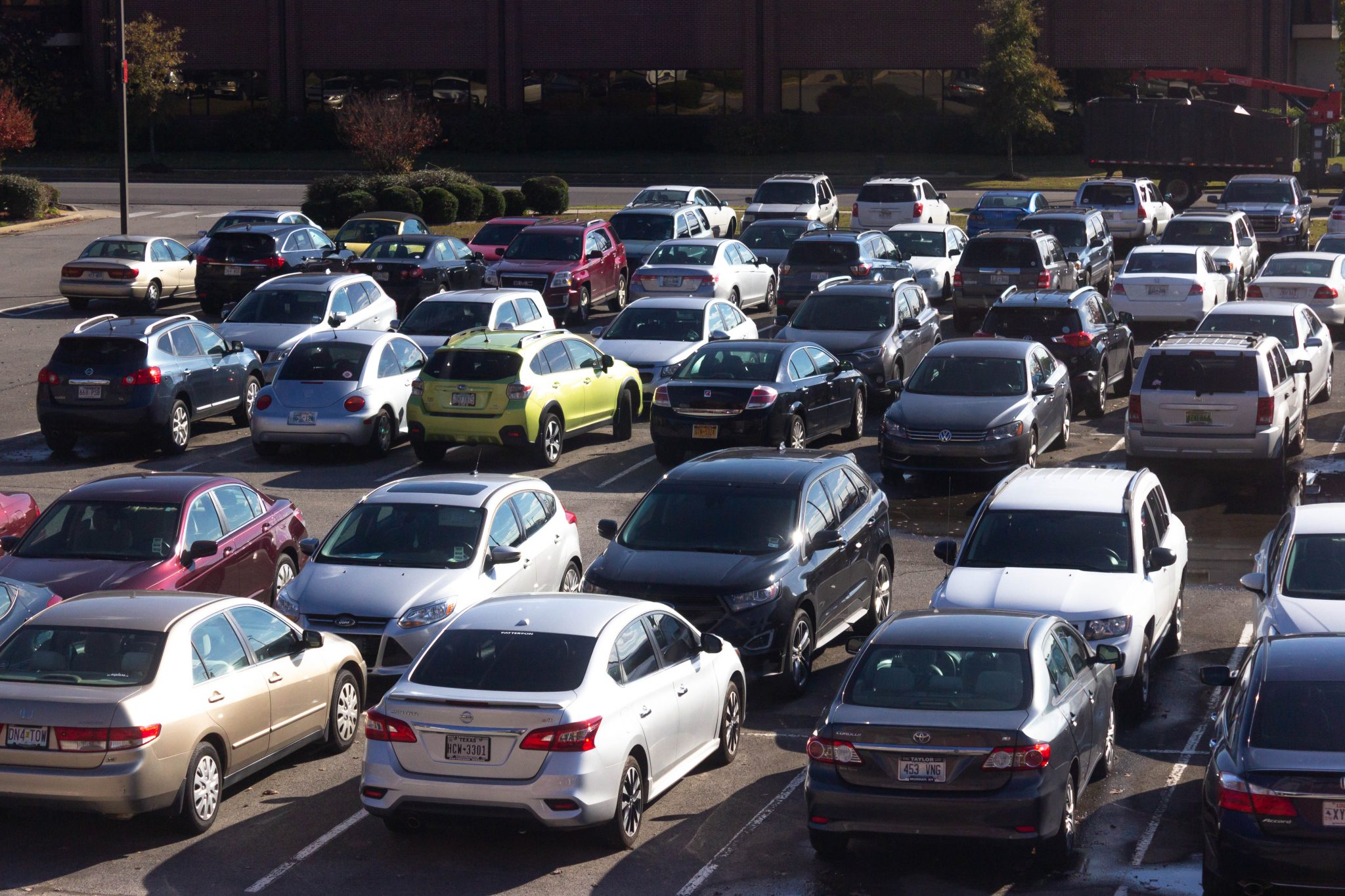 Parking remains hot campus topic | The Bison