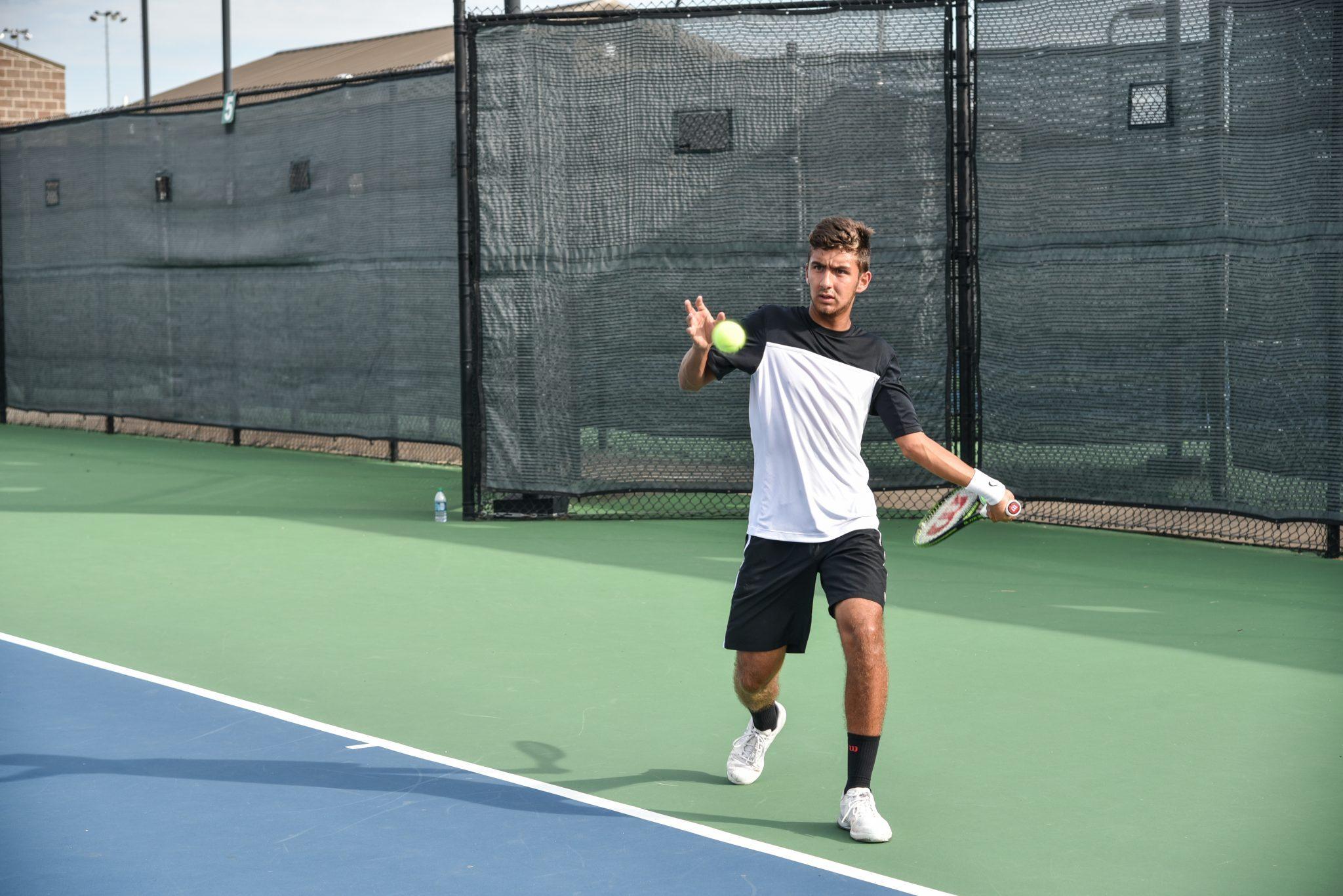 Bisons Men's Tennis Sets Records at Regionals   The Bison