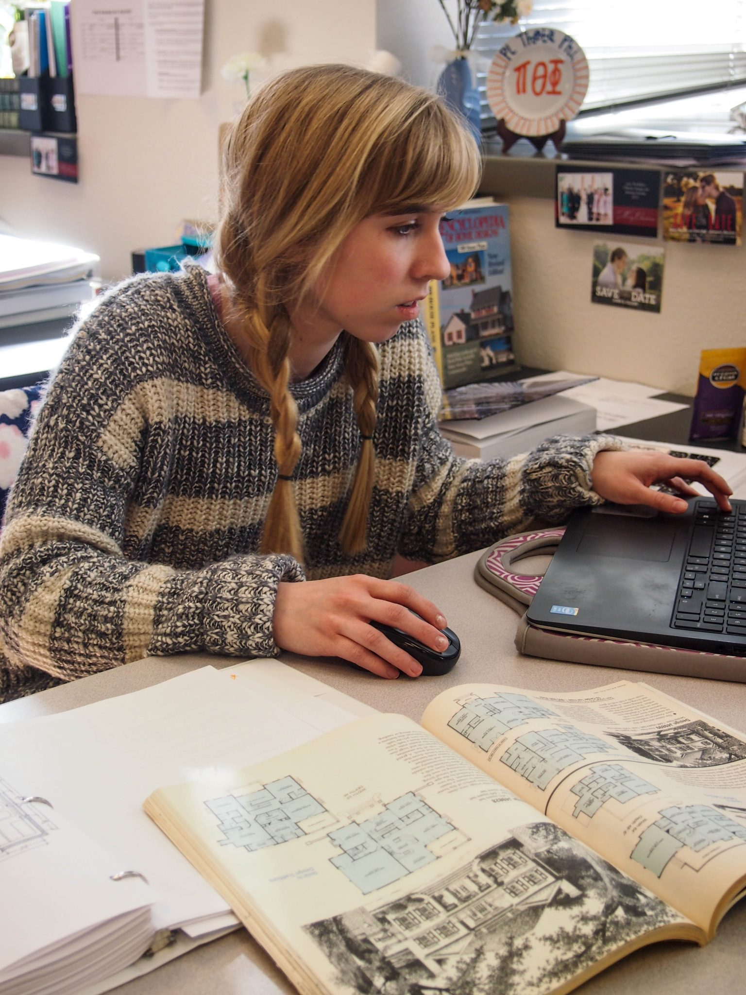 renovated interior design space helps students the bison
