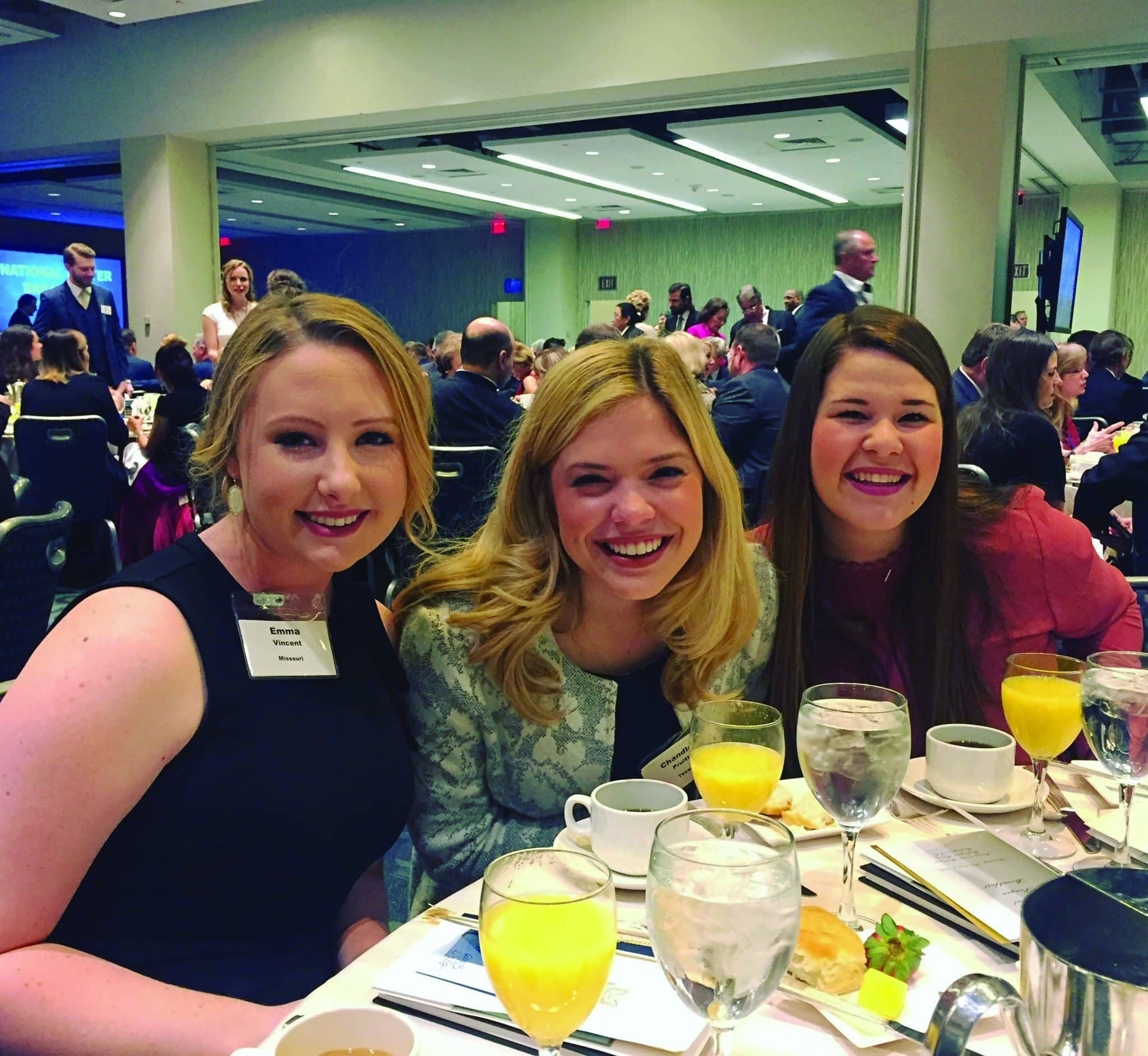 2 A Group Of Harding Students Joined Room 3500 Political Military And Corporate Leaders At The 65th National Prayer Breakfast In Washington DC